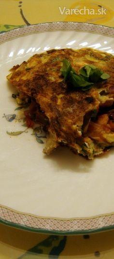 Zeleninová omeleta na odľahčenie (fotorecept)