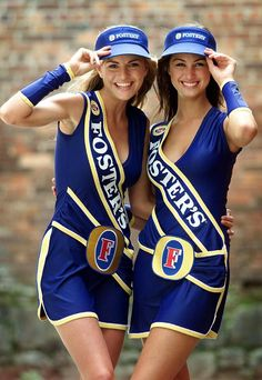 Australian GP: Fosters made the most of its Grand Prix sponsorship in 2002. Picture: Ben Swinnerton