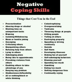 Negative coping skills by Blake Flannery. Negative ways to show anger. Let's all make sure we are crossing all of these off the list! Turn them into positive coping skills. Counseling Activities, School Counseling, Therapy Activities, Mental Health Counseling, Under Your Spell, Therapy Tools, Therapy Ideas, Art Therapy, Anger Management