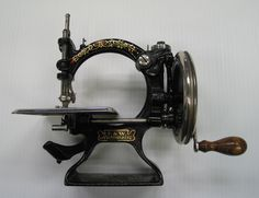 Sewing Machine, 1895-1900. 1100.69.3. American Textile History Museum