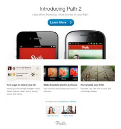 Path  Introducing Path 2