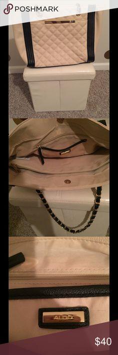 Spotted while shopping on Poshmark: Leather chain strap shoulder bag! #poshmark #fashion #shopping #style #Aldo #Handbags