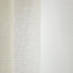 PIUMA col. 001 by Dedar - With an impeccable hang, this sheer presented in the natural colour of wool is fire-retardant, washable and extra-wide.