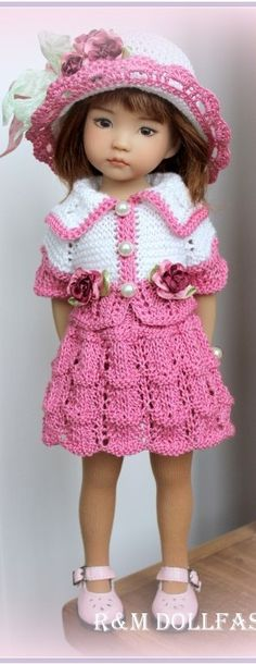 Little Darling Effner knitted outfit