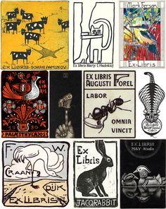 Ex libris, piccoli capolavori nascosti dentro i libri | DidatticarteBlog