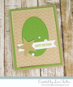 Happy Birthday card Urban Moments Theme by Tracks Publishing.
