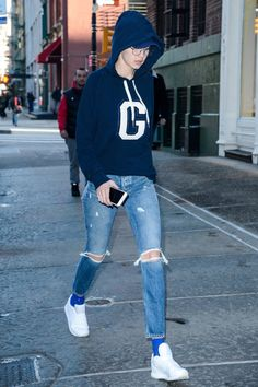 """The """"G"""" on Gigi Hadid's Hoodie Doesn't Just Stand For Her Name, It Has Another Meaning"""
