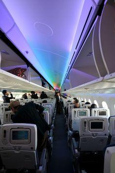 Inside the Boeing 787 Dreamliner ~~