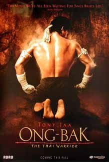 Ong-Bak: Muay Thai Warrior (Thai: องค์บาก), also known in the United States as Ong-Bak: The Thai Warrior is a 2003 Thai action film. It was directed by Prachya Pinkaew, featured stunt choreography by Panna Rittikrai and starred Tony Jaa.