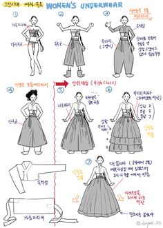 How to wear Hanbok Korean Traditional Dress, Traditional Fashion, Traditional Dresses, Korean Dress, Korean Outfits, Modern Hanbok, Korean Art, Drawing Clothes, Hanfu