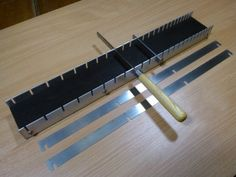 GMC-Luthier-Tools-FRET-SLOTTING-JIG-For-fingerboard-blanks