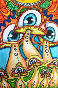 trippy alien drawings - Google Search