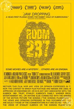 Solve the Brain Labyrinth on Alternative 'Room 237' One-Sheet