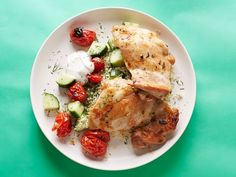 Chicken Thighs and Couscous With Dill