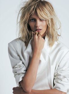 Anja Rubik x S Moda April 2013 photographed by Eric Guillemain 3