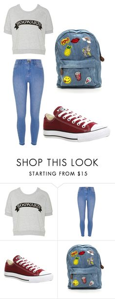 """My style"" by maramira2005 ❤ liked on Polyvore featuring River Island and Converse"