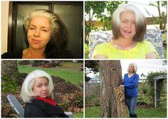 Going grey on Pinterest | Gray Hair, Grey Hair and Silver Hair