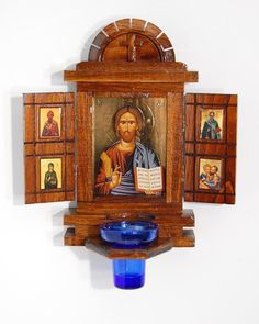 Eastern Christian Supply — Shrine with Icon of Christ and Doors