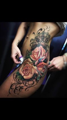 Image uploaded by Paoly Parrales 💖. Find images and videos about Tattoos on We Heart It - the app to get lost in what you love. Side Tattoos, Hot Tattoos, Unique Tattoos, Beautiful Tattoos, Body Art Tattoos, Sleeve Tattoos, Tribal Tattoos, Tatoos, Tattoo Life