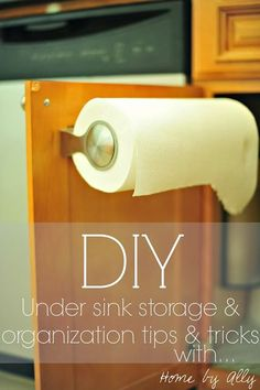 DIY: Under sink storage, how to install tile underneath & tips and tricks to make your life easier. MUST read.