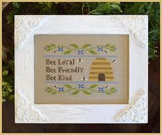 Country Cottage Needleworks - Bee Virtues – Stoney Creek Online Store