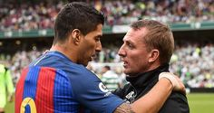 Berita Bola: Suarez: Semoga Sukses Di Celtic, Rodgers!  Striker Barcelona, Luis Suarez, memberi dukungan kepada mantan manajernya ketika masih bermain untuk Liverpool, Brendan Rodgers, yang kini menjabat sebagai pelatih Celtic. http://rock.ly/daku3
