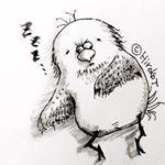#draw #cute #sketch #lonely #art #monday #おじさん #middleage #ペン画 #illustration #illustrationartists #love #drawing #とりさん #sketchbook #illustrator #doodle #artssharingcl #the_enchanted_art #イラスト #followme #instaart #細 #pen #オヤジ #illust #bird