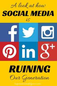 Is Social Media Ruining Our Generation? | Inspiration Indulgence