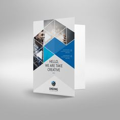 The corporate PSD presentation folder template was designed with Adobe Photoshop, the layers are well-organized and editable. Design Presentation, Corporate Presentation, Presentation Folder, Sales Presentation, Design Brochure, Brochure Layout, Folder Template, Business Folder, Free Printable Business Cards