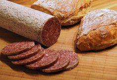 Here's a very old recipe for making your own summer sausage, we also use it to make venison sausage.) hours in the oven and you have delicious fresh summer sausage Homemade Summer Sausage, Venison Sausage Recipes, Curing Salt, Eating Alone, Eat Fat, Yummy Snacks, Cooking Recipes, Stuffed Peppers, Meals