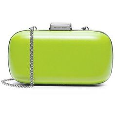 Women's MICHAEL Michael Kors 'Elsie' Leather Dome Clutch