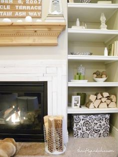 built-ins- idea for left of fireplace- but I do hate built- ins..