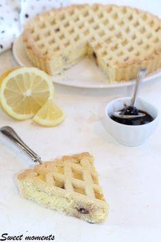 #crostata #crema #cremaallimone #ricotta #colazione #merenda #cremapasticcera #amarene Best Italian Recipes, Dolce, Ricotta, Grande, Good Food, Anna, Bread, Group, Cooking