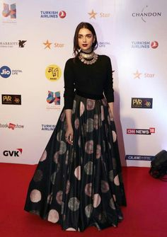 Lehenga Choli Bollywood Designer Printed Exclusive Work On Bridal Indo Western Traditional Black lehenga Choli with Black Blouse Choli Designs, Lehenga Designs, Indian Gowns Dresses, Pakistani Dresses, Lehnga Dress, Lehenga Choli, Net Lehenga, Saree Blouse, Bollywood Lehenga