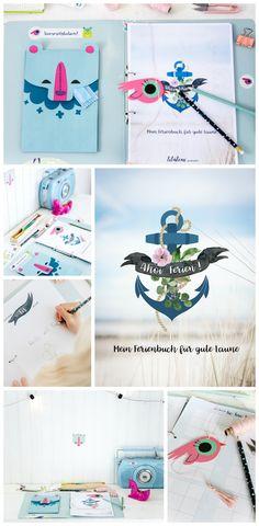 Langeweile adé: Mit dem kostenlosen DIY Kinder Kreativ-Buch für die Ferien ist gute Laune garantiert. Einfach kostenlos herunterladen, ausdrucken und der Kreativität freien Lauf lassen. Macht übrigens auch Erwachsenen gute Laune! Happy Ferien by titatoni.de
