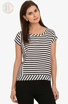 Новости Blouse Styles, Blouse Designs, Casual Tops, Trendy Tops, Outfits With Striped Shirts, Baby Girl Tops, Mom Outfits, Fashion Outfits, Apparel Design
