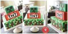 Mindcraft Cake