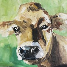 Piedmontese calf   Farming, cattle, pet, Landscape, animal original oil painting country, farm style. Irish Farm Art. Dublin, Ireland by IrishFamArt on Etsy Farm Art, Cow Art, Country Farm, Dublin Ireland, People Art, Freelance Illustrator, Art Projects, Irish, Moose Art
