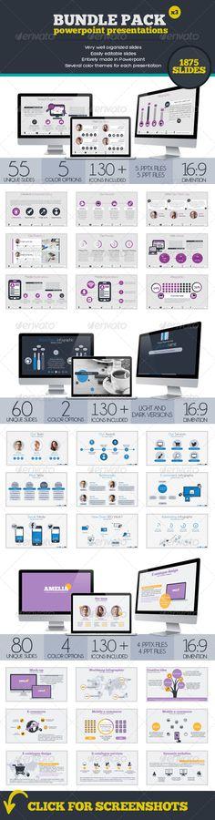 Bundle Powerpoint Presentations (Powerpoint Templates) #Powerpoint #Powerpoint_Template #Presentation