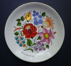 Kalocsa Hungary Plate