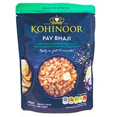 Buy Pav Bhaji online from Spices of India - The UK's leading Indian Grocer. Free delivery on Pav Bhaji - Kohinoor (conditions apply). Pav Bhaji Masala, Mumbai Street Food, Red Chilli, Curry Paste, White Bread, Naan, Turmeric, Vegetable Recipes