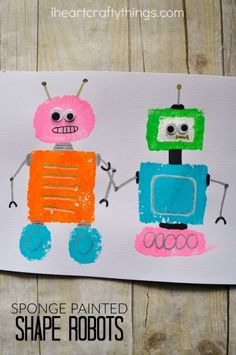 No matter how old you are, robots are always awesome! Their metal bodies, quirky movements and robotic voices always grasp interest and leave you in wonderment about science and technology. This makes them an especially fun topic to learn about in preschool. One fun way to explore robots in preschool is with using shapes. This …