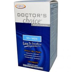 Enzymatic Therapy, Doctor's Choice Multivitamins, 50+ Men, 120 Tablets, Diet Suplements -ST