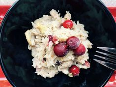Cranberry and mushroom risotto in bread maker - sourdoughmovement.com Roasted Mushrooms, Stuffed Mushrooms, Cup Of Rice, Frozen Cranberries, Mushroom Risotto, Food Challenge, Bread Baking, Fresh Fruit