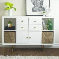 Do you know Ikea& Kallax library? Concepts The IKEA Kallax series Storage furniture is an important section of any home. They supply order an Ikea Shelf Hack, Ikea Kallax Hack, Ikea Shelves, Kallax Shelving, Shelving Units, Ikea Hack Bedroom, Ikea Kallax Shelf, Ikea Sideboard Hack, Tv Stand Ikea Hack