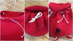 crochet backpack: Ladybird Ladybug backpack by Kate Eastwood on the LoveCrochet blog