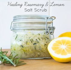 Now this is the stuff. Smells divine, has a ton of healing benefits and compared to fancy boutique body scrubs, it's a steal price wise. But do you want to know why I love it most? Everything came out of my garden and the olive oil from down the street.