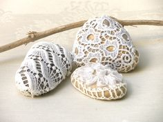 Hey, I found this really awesome Etsy listing at https://www.etsy.com/listing/94254206/lace-crochet-stones-valantines-day-gift