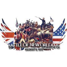 Battle of New Orleans is a T Shirt designed by jbjart to illustrate your life and is available at Design By Humans