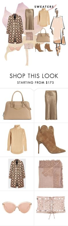 """sweaters"" by blumbeeno ❤ liked on Polyvore featuring Calvin Klein, Vince, Polo Ralph Lauren, Burberry, PS Paul Smith, Faliero Sarti, Linda Farrow and Understated Leather"